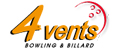 Bowling des 4 vents - 18 pistes - Bar - Billards